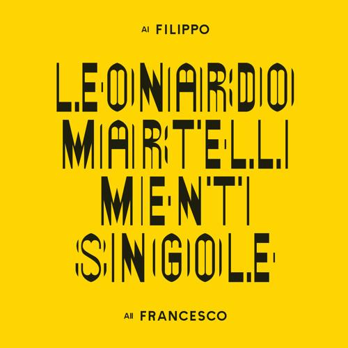 ATN021 - LEONARDO MARTELLI - MENTI SINGOLE