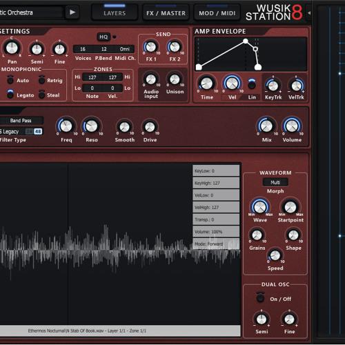 Wusik Station V8 Demos