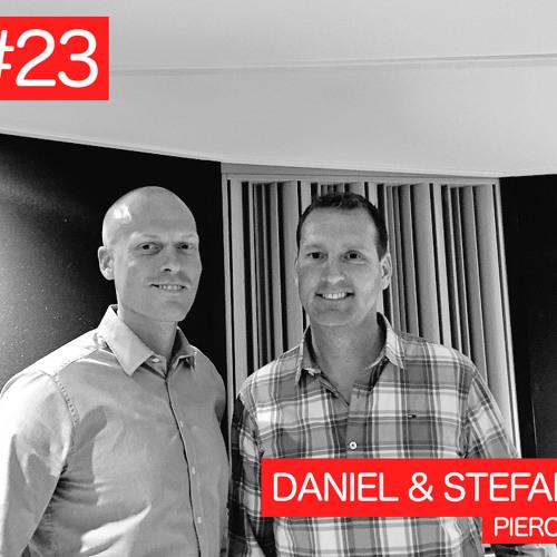 #23 Daniel & Stefan, Pierce (24mx, XLmoto, Sledstore)