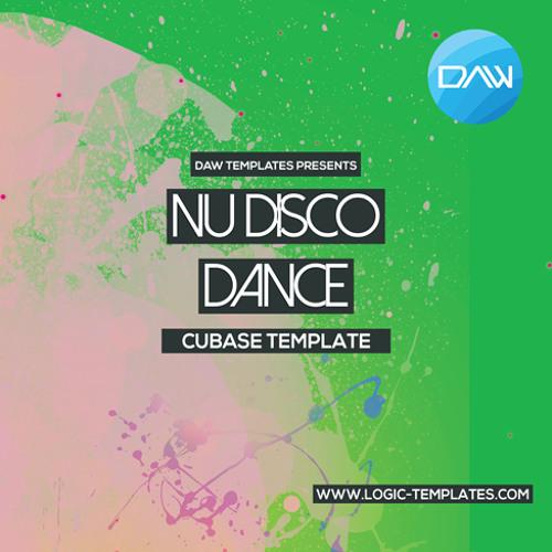 Nu Disco Dance Cubase DAW Template