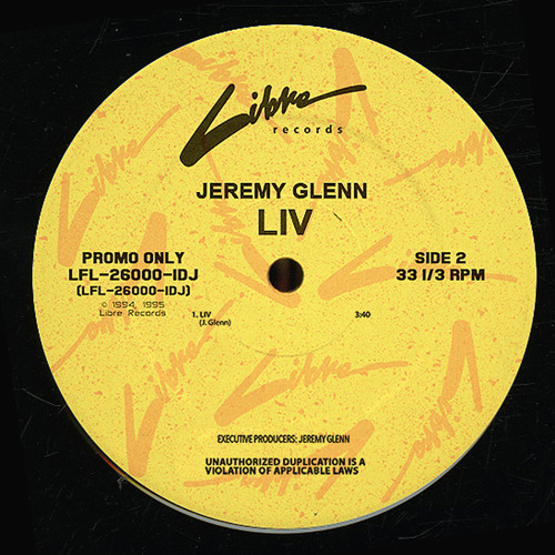 JEREMY GLENN - LIV