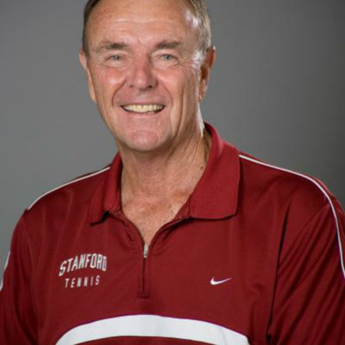 Dick Gould on the 'Coaches Corner