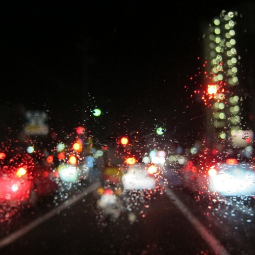 Night Drive - Driving In The Rain Edit