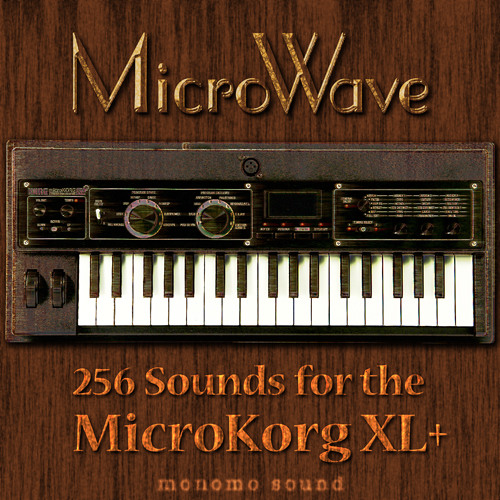MicroWave Soundset for MicroKorg XL+ Synthesizer