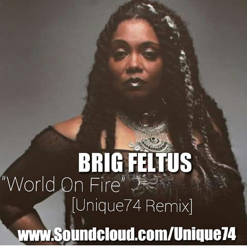 WORLD ON FIRE (Unique74 Remix) | BRIG FELTUS
