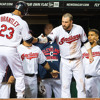 Indians LF Michael Brantley on the team playing well