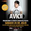 Concierto Avicci en Hard Rock Rising Barcelona