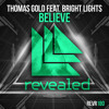 Thomas Gold ft. Bright Lights - Believe [Nadine Piano Cover]