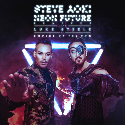 Steve Aoki ft. Luke Steele - Neon Future Artworks-000122747387-opeoe6-t500x500