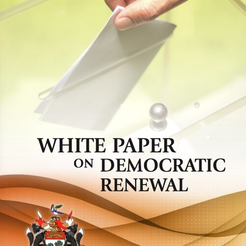 White Paper on Democratic Renewal (with Techo Backing)