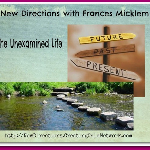 New Directions with Frances Micklem - The Unexamined Life