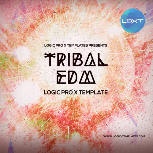 Tribal EDM Logic Pro X Template