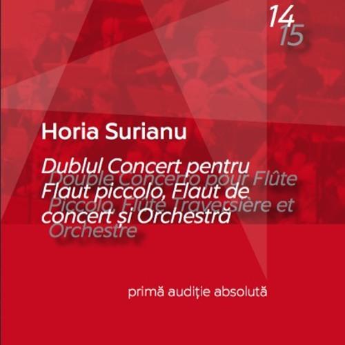 Fragments -  Double Concerto pour Flûte Piccolo, Flûte Traversière et Orchestre (2015)