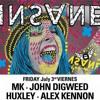 Alex Kennon _  Insane Pacha _  live _ Ibiza global radio _ 03/07/2015 W  John Digweed   Mk   Huxley
