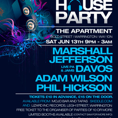 A Very Important House Party - Marshall Jefferson June 2015