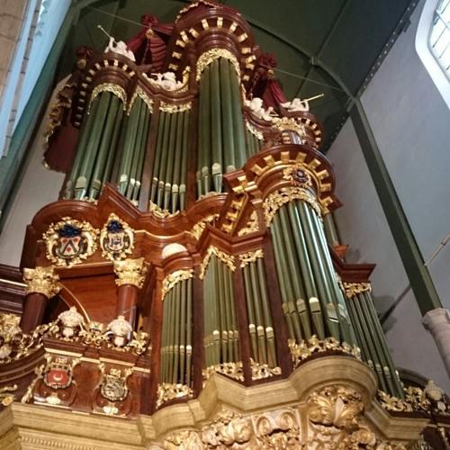 Improvisation on a Advent-hymne ' O Heiland, reiss die Himmel auf ' (Dutch hymnebook LVK 128)