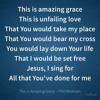 This Is Amazing Grace By Phil Wickham (Cover)