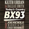 Who's singing with Keith Urban at BX93's Rock the Park Gone Country?!