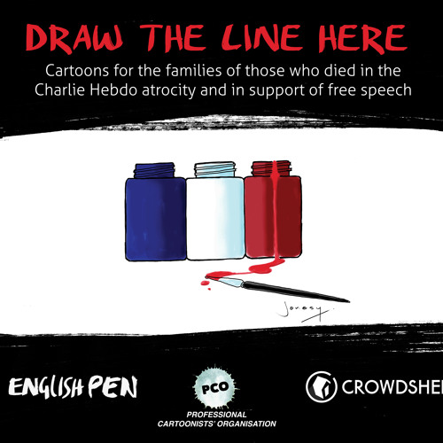 Speech at launch of Draw The Line Here