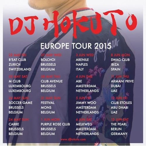 LIVE MIX at CLUB ETOILES, ABU DHABI with MC PHATT June 12, 2015