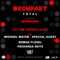 Enjoy this recording from my set Space Ibiza on June 20th, 2015. This was from our Kompakt TOTAL launch party that is presented by Kehakuma.