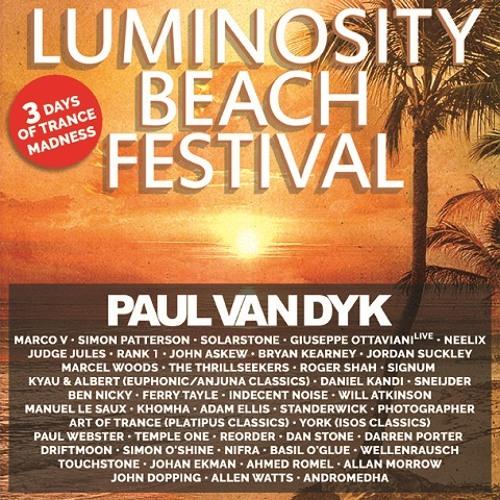 Johan Ekman LIVE @ Luminosity Beach Festival | Holland, June 26th 2015