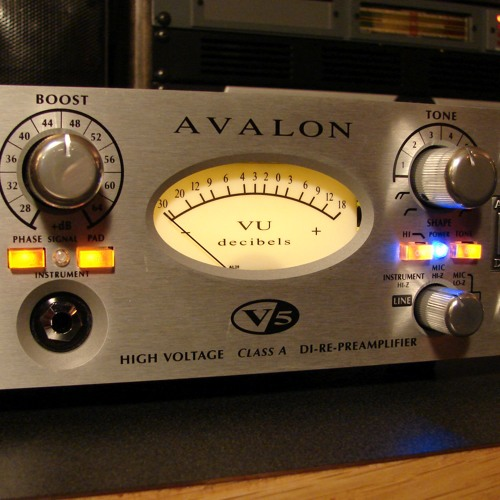 Avalon V5 Passive Bass DI
