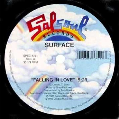 Surface - Falling in love (Stephen Day's re-work)