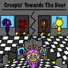 """CREEPIN' TOWARDS THE DOOR"" - FNAF SONG | By Griffinilla W: Lenich & Kirya"