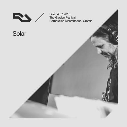 RA Live - 2015.07.04 - Solar, The Garden Festival, Croatia