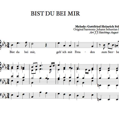 Bach/Stötzel - Bist du bei mir (solo: Laura Wright)