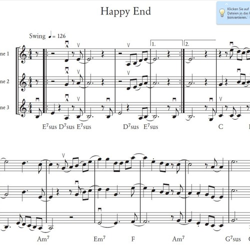 Happy End (comp.: Jens Piezunka)