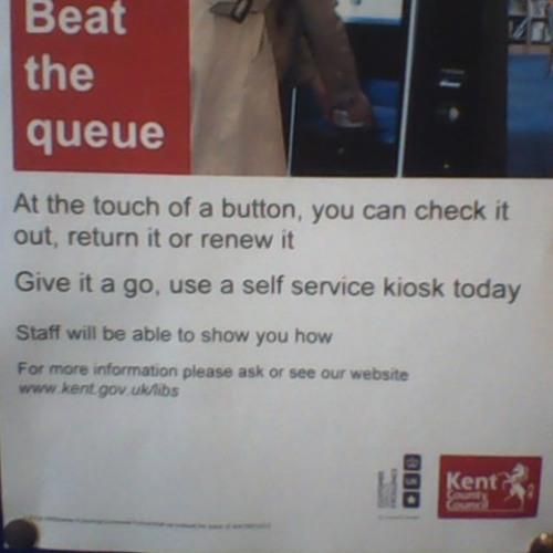 WEBSITE: Beat the queue...