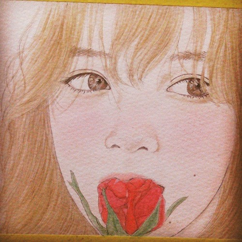 Birdcage In A Rose Garden