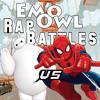 Baymax vs Spider-Man - Emo Owl Rap Battles Season 3