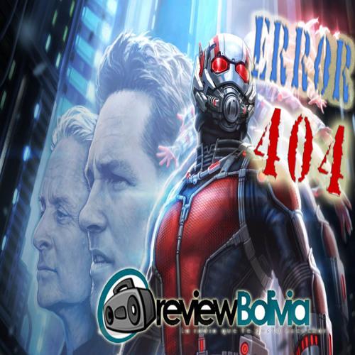 ANTMAN Error 404 Prog. 05
