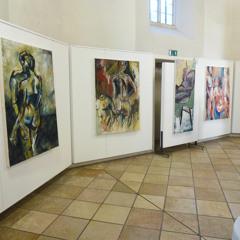 Vernissage zur Ausstellung zum Semesterabschluss 2015