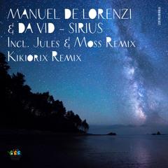 Manuel De Lorenzi & Da Vid - Sirius (Jules & Moss Remix)