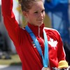 Interview with Jasmin Glaesser after her silver-medal win at 2015 Pan Am Games ITT