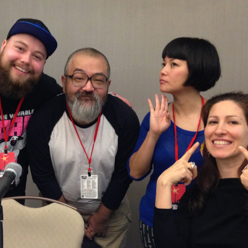TCAF2015 Gay Manga Panel with Gengoroh Tagame