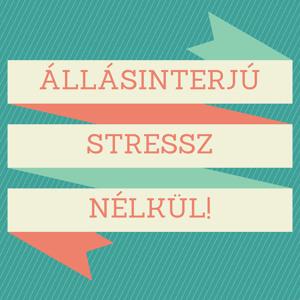 Állásinterjú stressz nélkül!