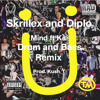 RE-UPLOAD Skrillex And Diplo - Mind Ft. Kai (drum And Bass Remix) REMASTERED AND LOUDER