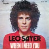 Leo Sayer - More Than I Can Say (Cover)