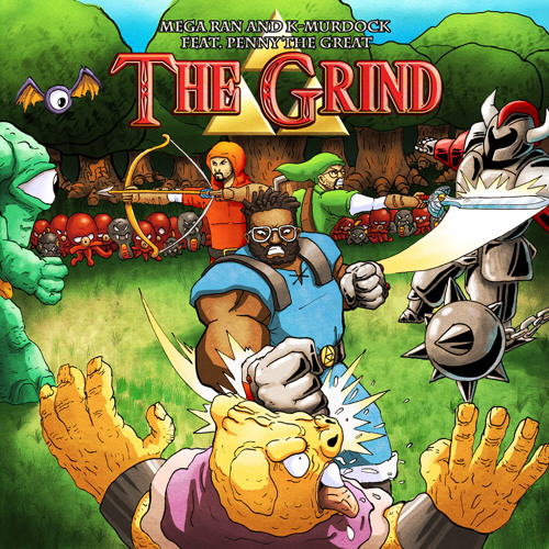 "Mega Ran & K-Murdock f/ Penny The Great - ""The Grind"" *Preview*"