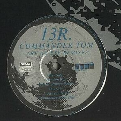 COMMANDER TOM - ARE AM EYE - (JOHN ASKEW REMIX) (free download)