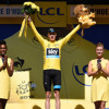 Chris Froome yellow jersey press conference 2015 Tour de France