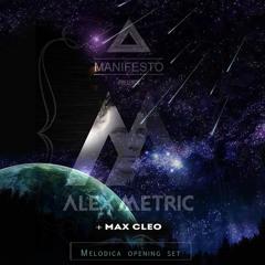[LIVE] Melodica open set for Alex Metric @ Manifesto 18 Jul 2015