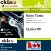 CKIA Radio Quebec Canada featuring Mario Tomic
