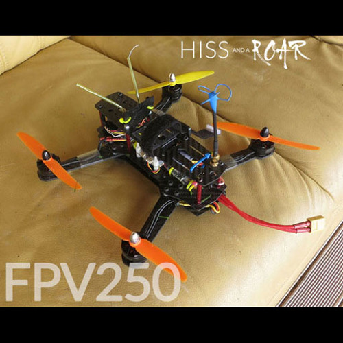 QUADCOPTER FPV250 Preview