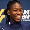 West Virginia's Keisha Buchanan and Nikki Izzo-Brown | 7-29-15